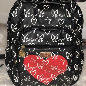 Betsey Johnson Book Bag